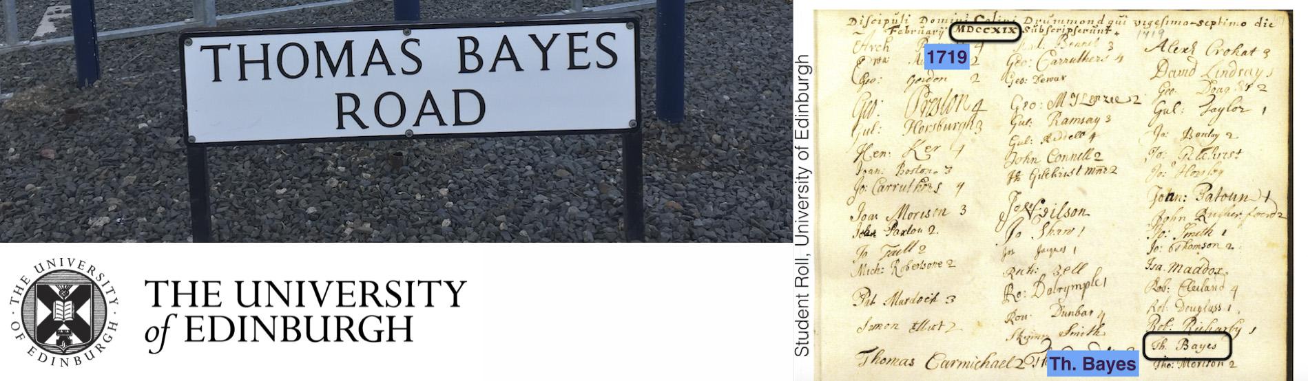 Bayes and Edinburgh