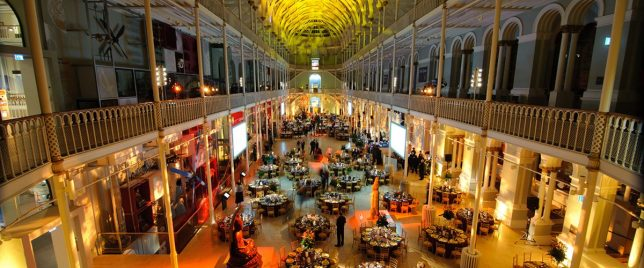 National Museum of Scotland dinner photo